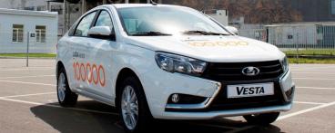 100 000-ый седан LADA Vesta сошел с конвейера на Ижевском автозаводе