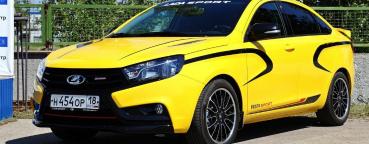 АВТОВАЗ готовит запуск производства новой версии LADA Vesta Sport